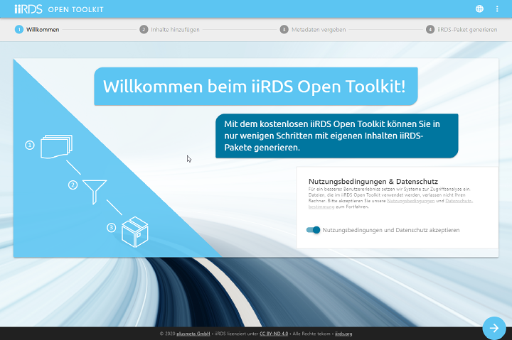 Startseite_iiRDS-Open-Toolkit