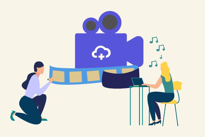 Teaserbild Videoproduktion bei einem Start-up